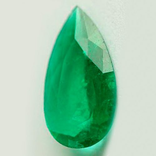 1.17 Ct, Pear Fine Natural Colombian Emerald Gem