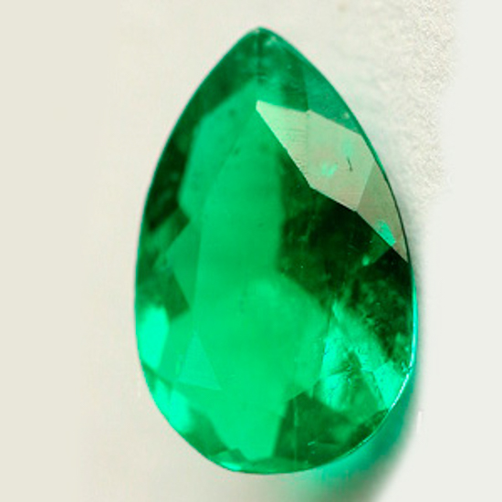 .64 Ct, Pear Fine Natural Colombian Emerald Gem