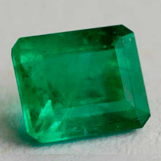 1.04 Ct, Emerald Fine Natural Colombian Emerald Gem