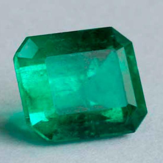 1.53 Ct, Emerald Fine Natural Colombian Emerald Gem