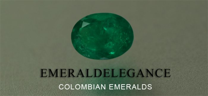 .91 Ct, Oval Fine Natural Colombian Emerald Gem