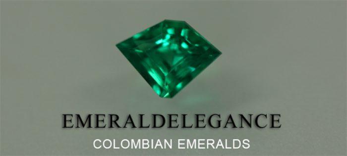 .5 Ct, Trillion Fine Natural Colombian Emerald Gem