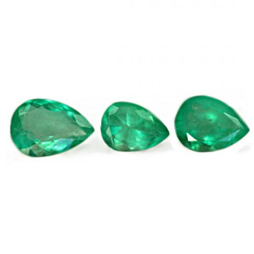 3.2 Ct, Drop Fine Natural Colombian Emerald Lot