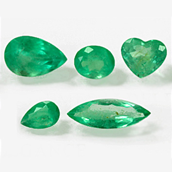 5.16 Ct, Mix Fine Natural Colombian Emerald Lot
