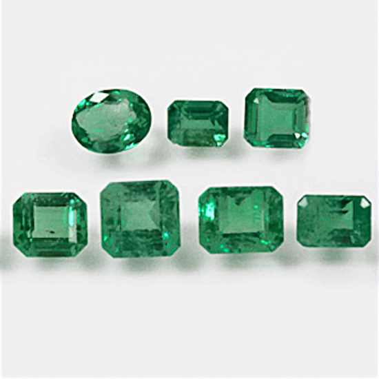 7.42 Ct, Mix Fine Natural Colombian Emerald Lot