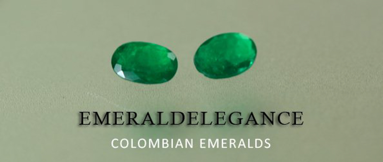 .62 Ct, Drop Fine Natural Colombian Emerald Pair