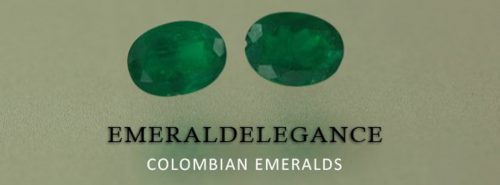 1.13 Ct, Oval Fine Natural Colombian Emerald Pair