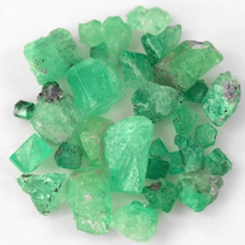 188.46 Ct, Rough Fine Natural Colombian Emerald Lot Minerals