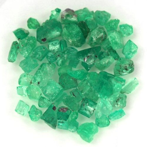 84.58 Ct, Rough Fine Natural Colombian Emerald Lot Minerals
