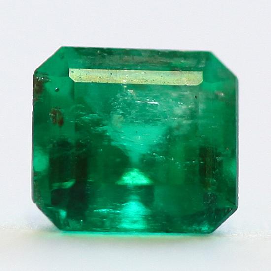 .62 Ct, Square Fine Natural Colombian Emerald Gem