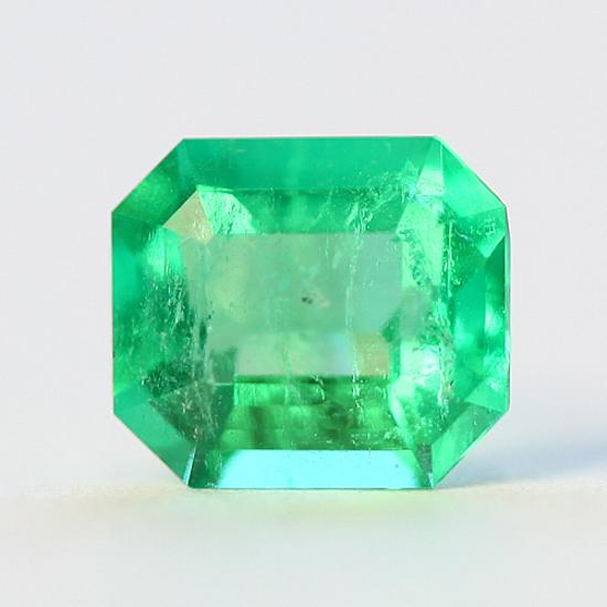 .92 Ct, Emerald Cut Fine Natural Colombian Emerald Gem
