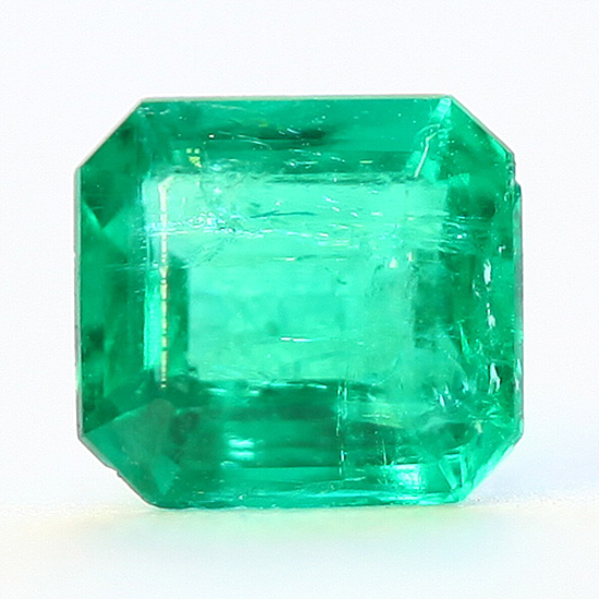 .48 Ct, Square Fine Natural Colombian Emerald Gem