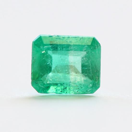.52 Ct, Square Fine Natural Colombian Emerald Gem