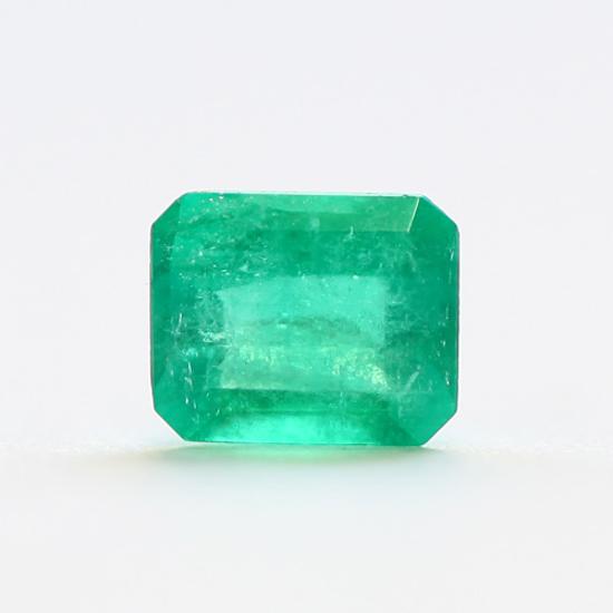 .72 Ct, Square Fine Natural Colombian Emerald Gem