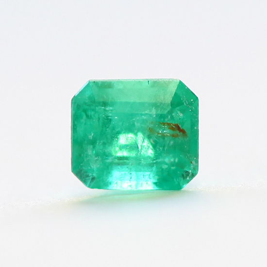 .59 Ct, Square Fine Natural Colombian Emerald Gem