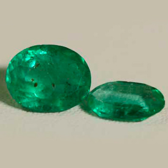 2.18 Ct, Round Mix Fine Natural Colombian Emerald Lot