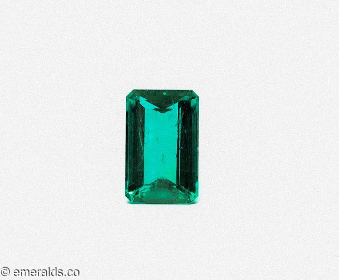 4.42 Fine Colombian Emerald Cut Minor Grs