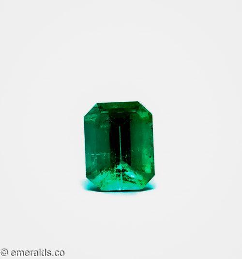 14.22 Fine Colombian Emerald Cut