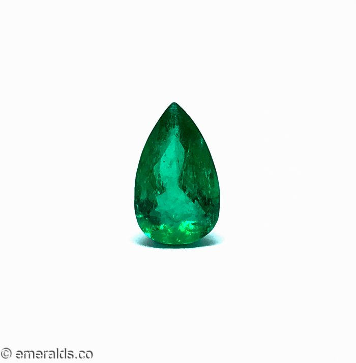 4.11 Fine Colombian Emerald Pear