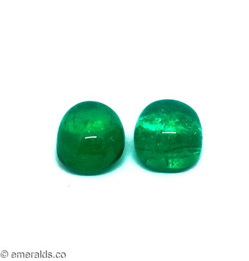 23.18 Fine Colombian Emerald Cabachon
