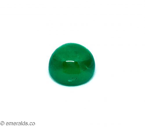 19.39 Fine Colombian Emerald Cabachon Insignificant Grs