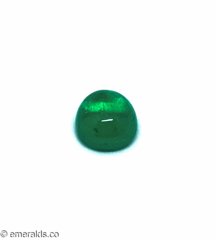 9.29 Fine Colombian Emerald Cabachon Insignificant Grs