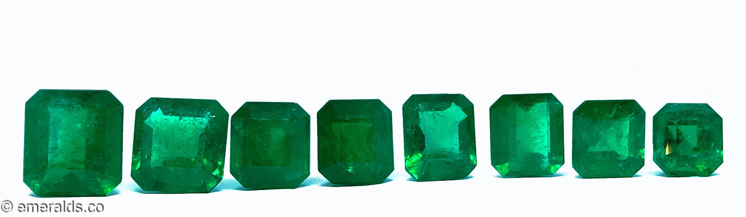 17.75 Fine Colombian Emerald Cut