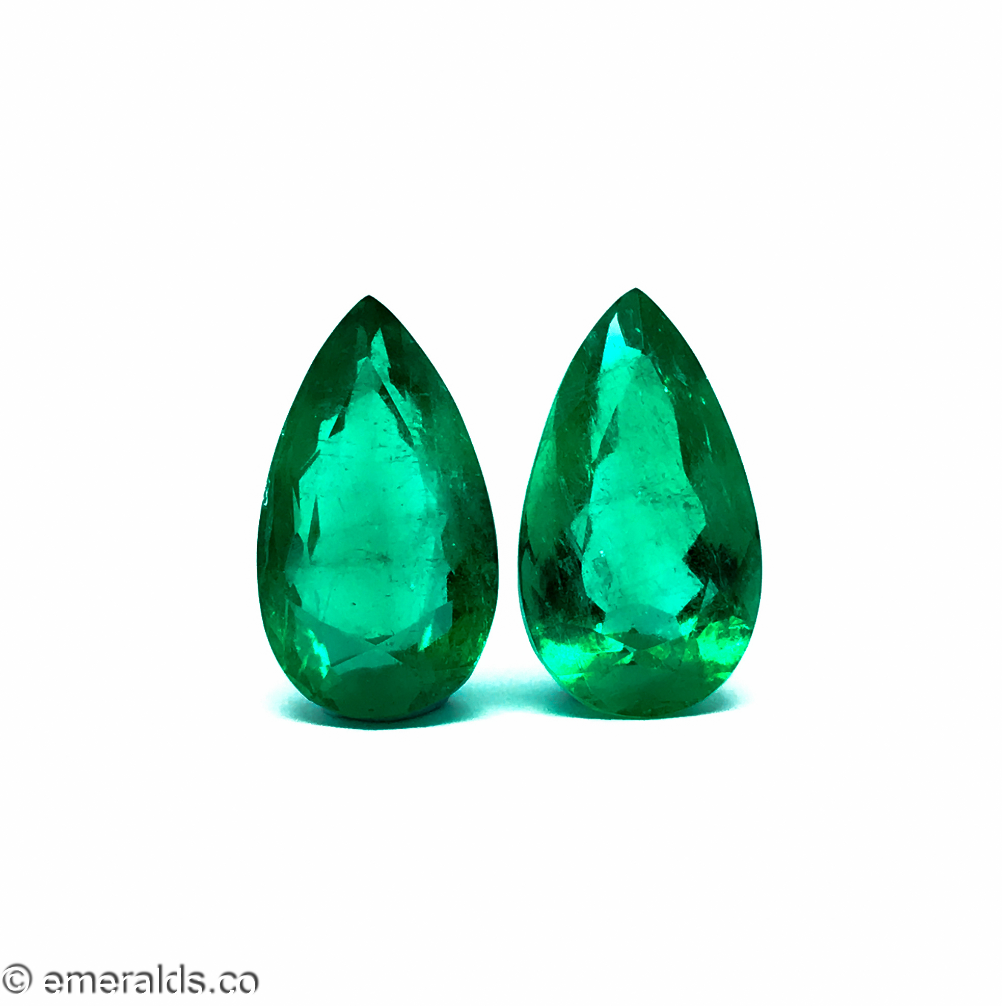 9.02 Fine Colombian Emerald Pear