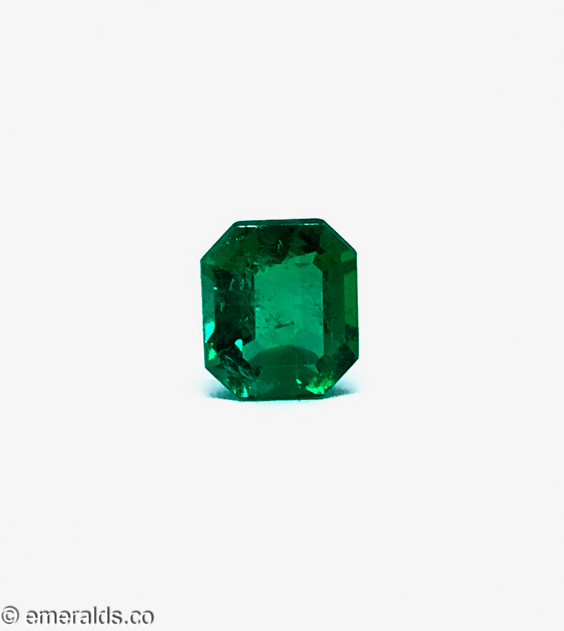2.23 Fine Colombian Emerald Cut Minor To Moderate Vivid Green Grs