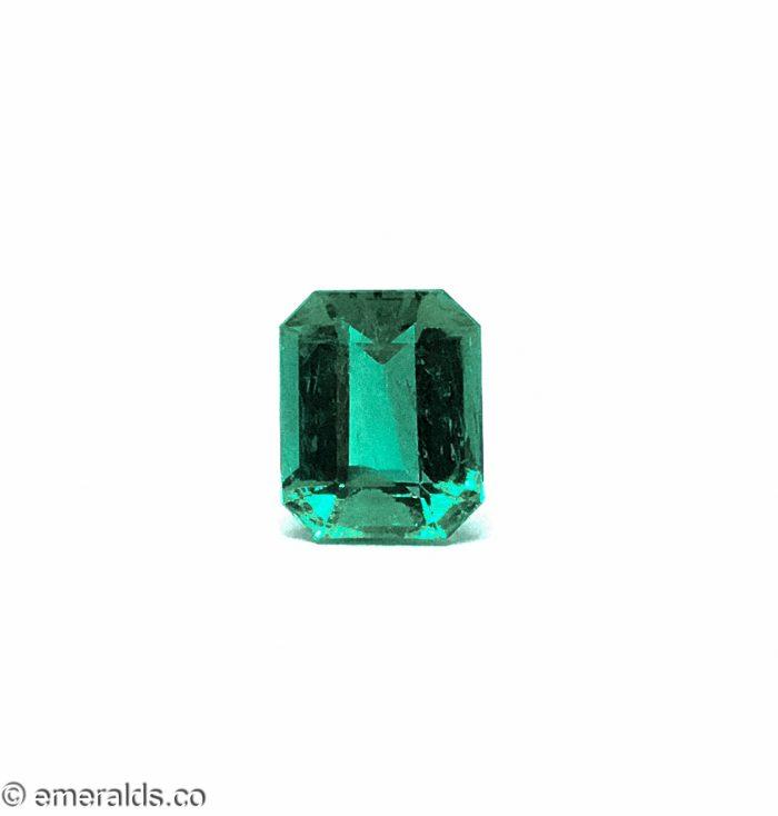 2.24 Fine Colombian Emerald Cut Insignificant Grs