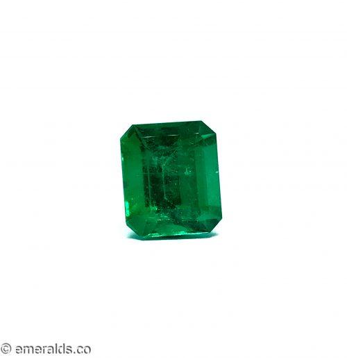 7.53 Fine Colombian Emerald Cut Minor Grs