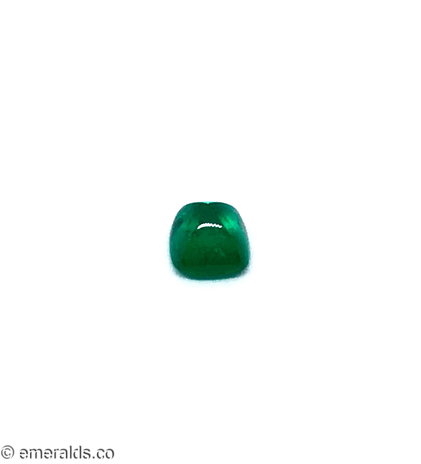2.03 Fine Colombian Emerald Sugarloaf