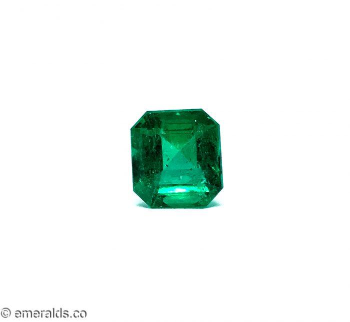 4.66 Fine Colombian Emerald Cut