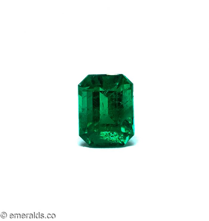 4.60 Fine Colombian Emerald Cut Minor Grs